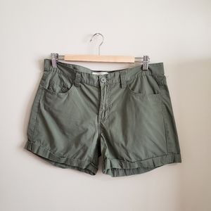 JOE FRESH | Dark Green Shorts